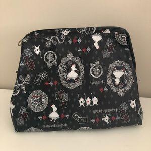 Alice in Wonderland MakeUp Zipper Pouch / Bag